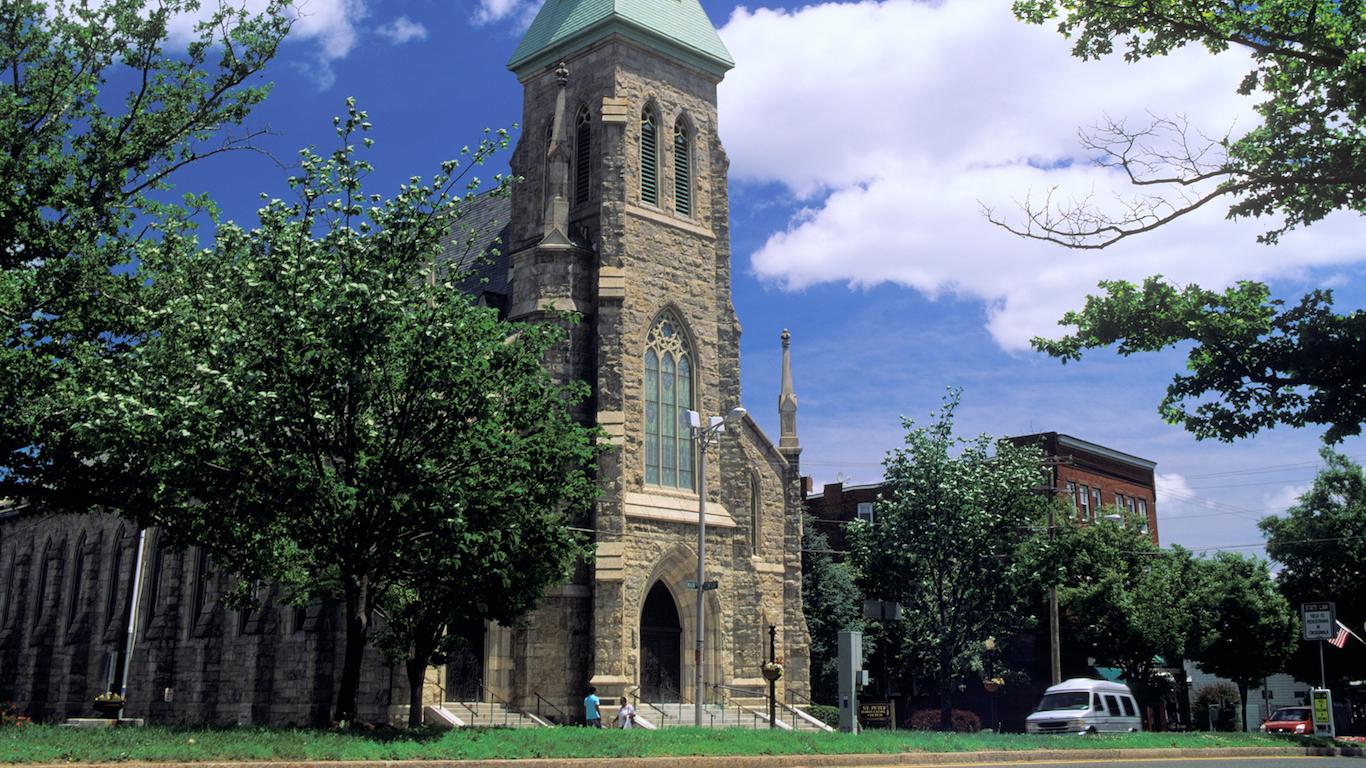 St. Peter's church, Danbury, Connecticut