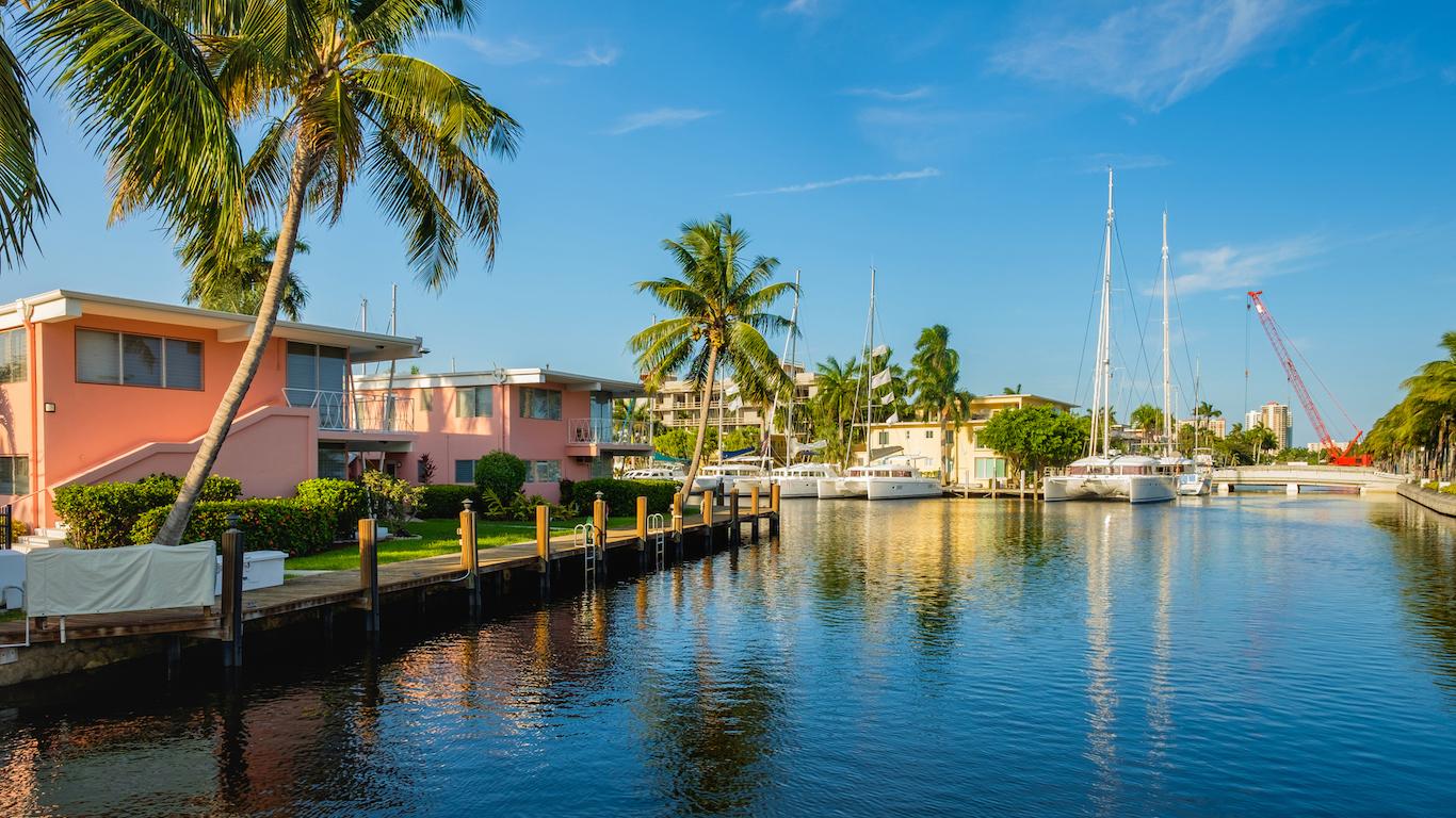 Fort Lauderdale Waterway, Florida