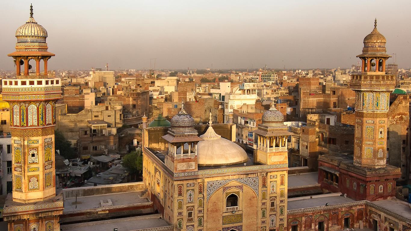 Wazir Khan mosque, Lahore, Pakistan