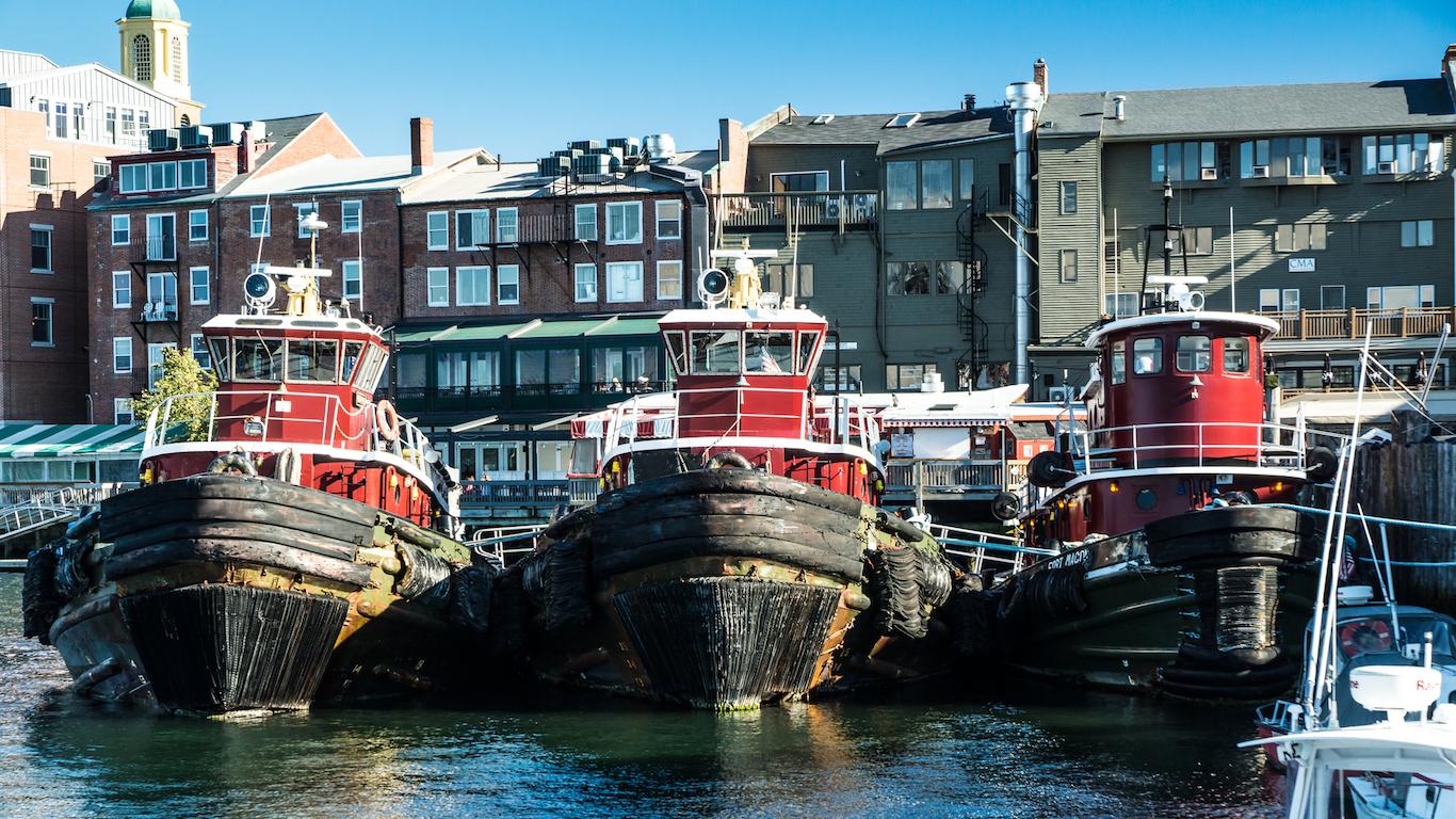 Portsmouth Harbor Tugboats, New Hampshire