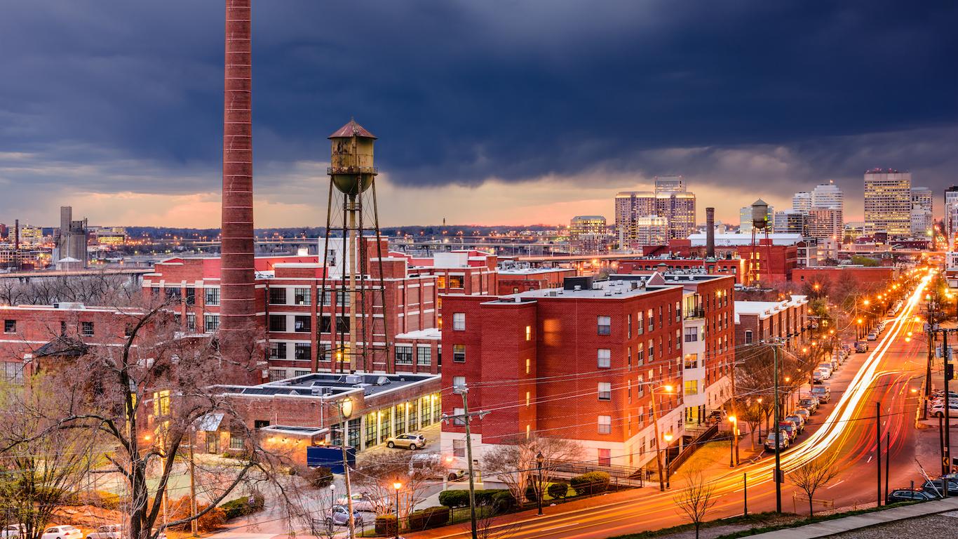 Richmond Skyline, Virginia