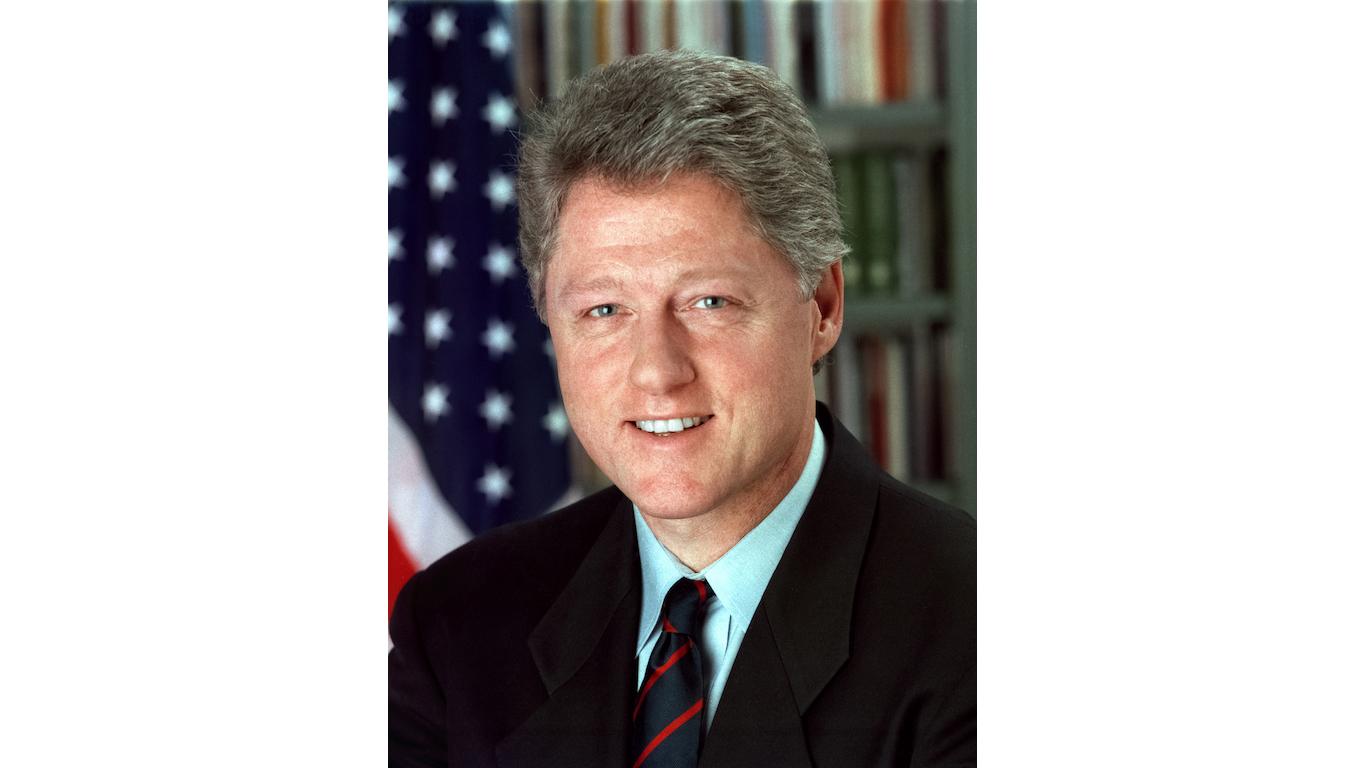 President William Jefferson Bill Clinton