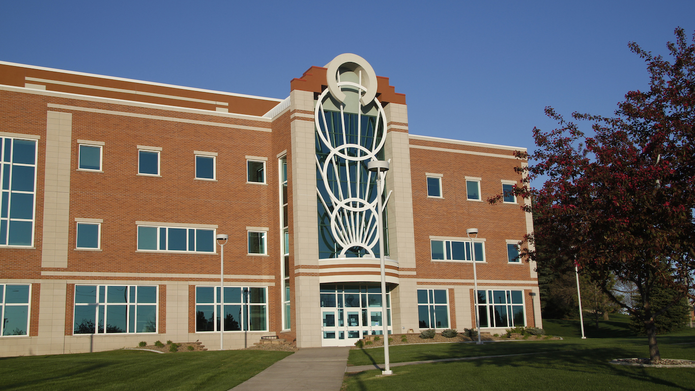 College Campus Building, Bismarck, North Dakota