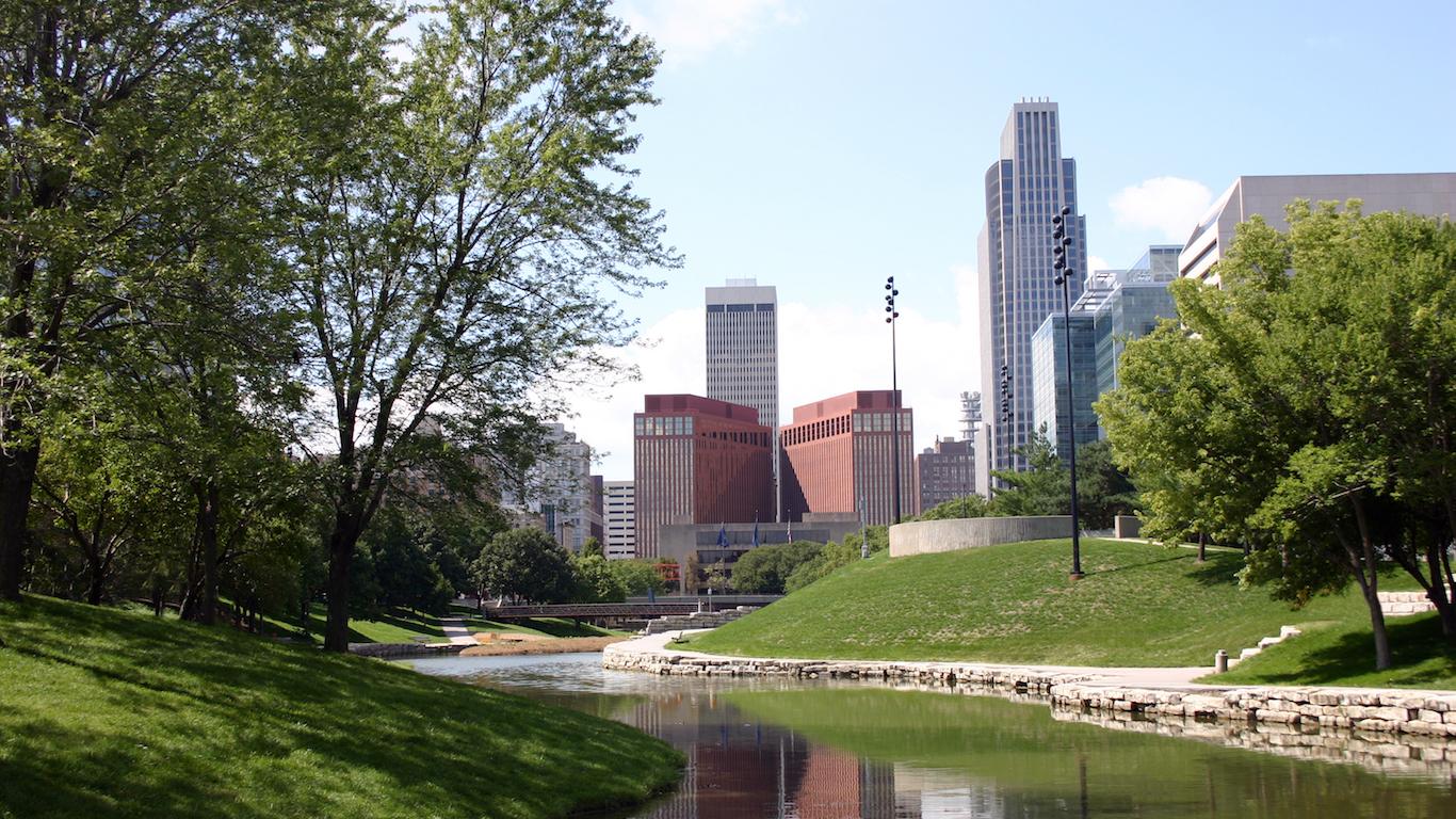 City Skyline, Omaha Nebraska