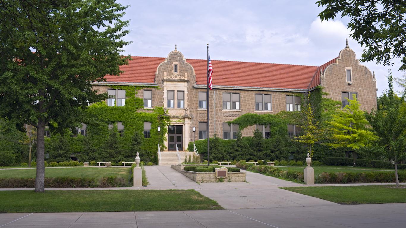 University Building in Winona Minnesota