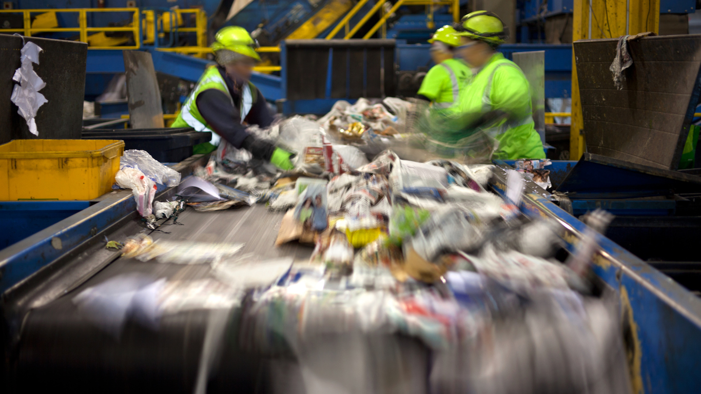 Recycling belt, Materials Recovery Facility