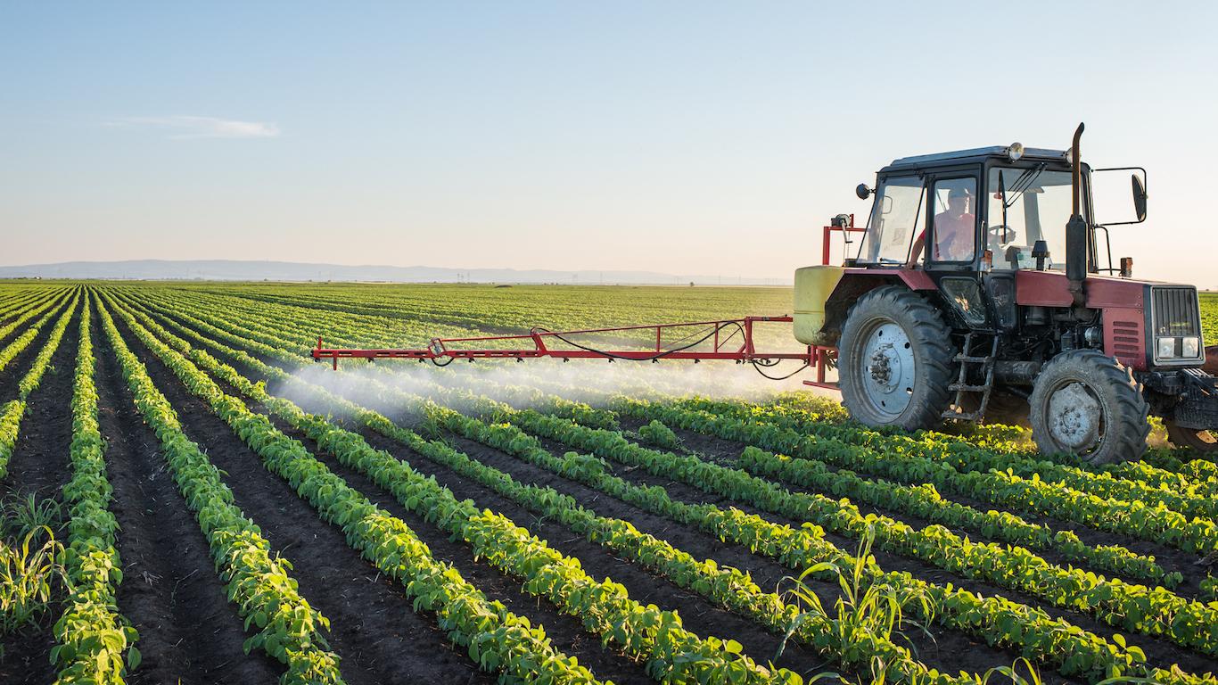 Soybean farming