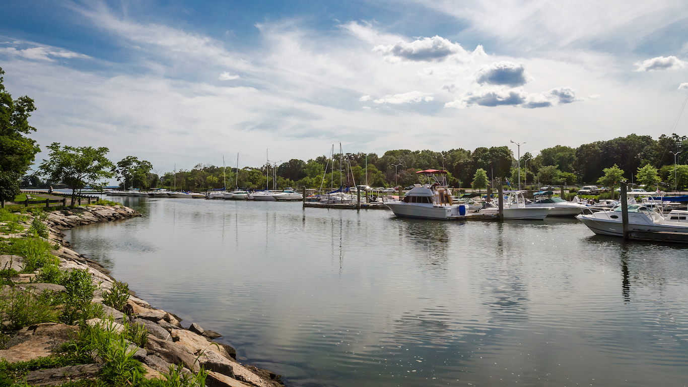 Cove Harbor, Stamford, Connecticut