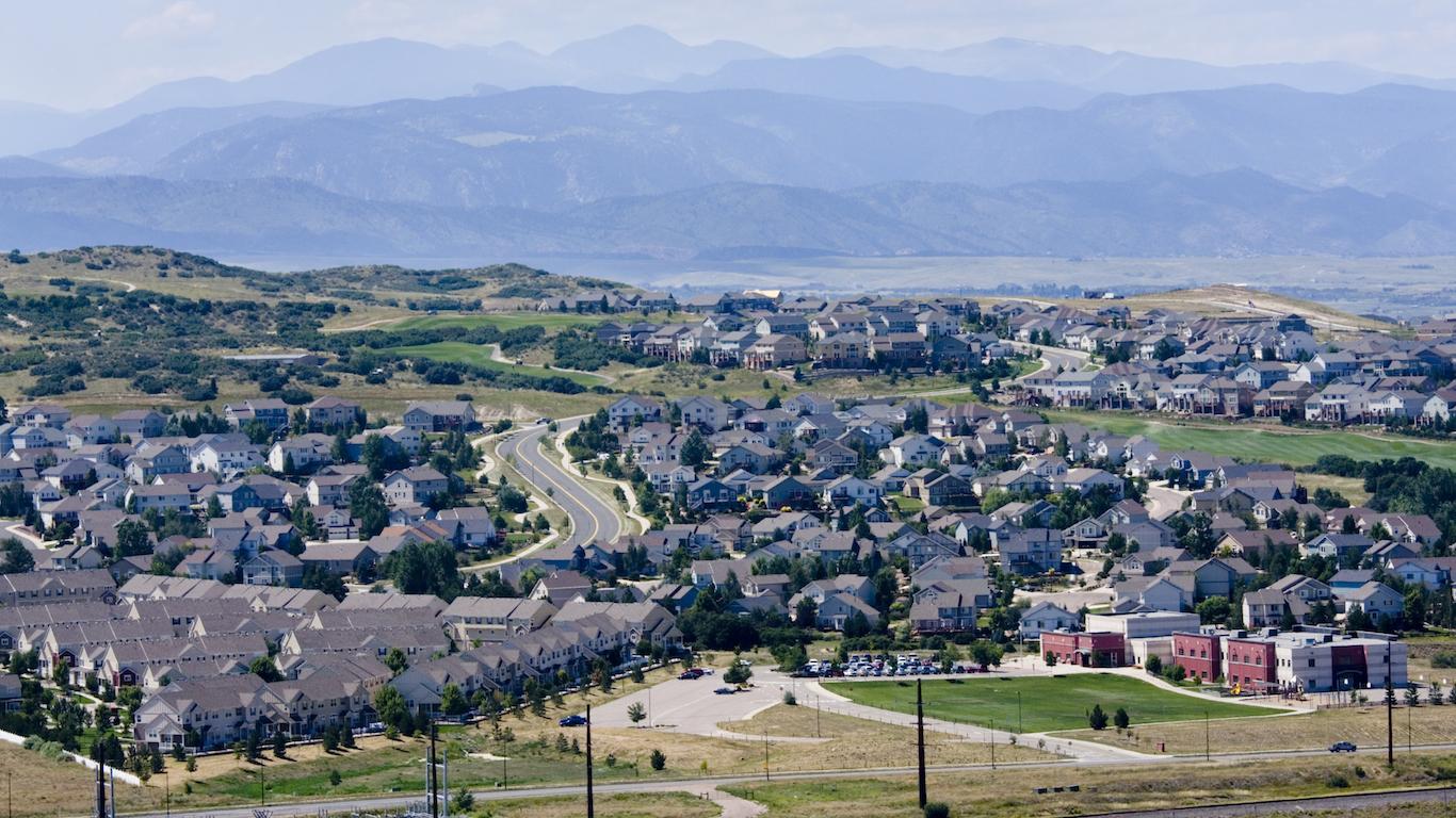 Castle Rock, Douglas County, Colorado