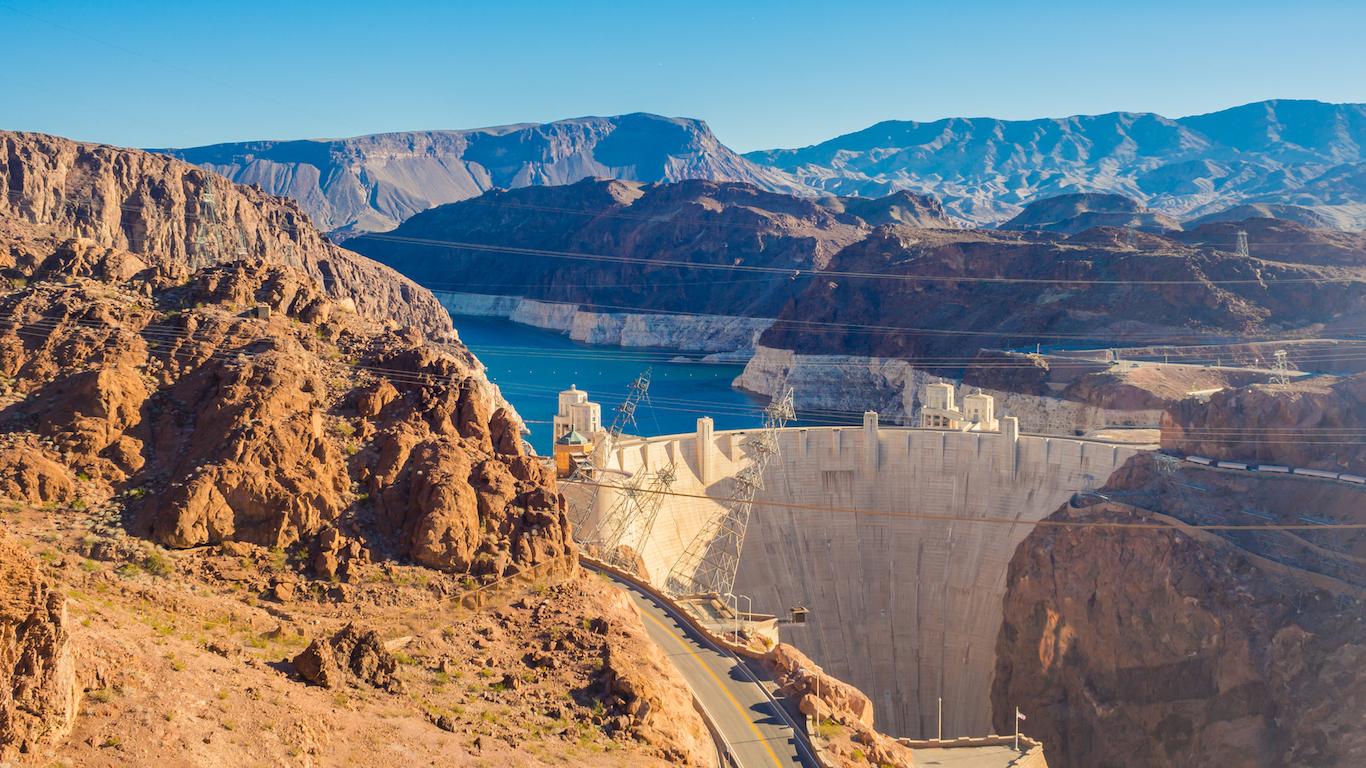 Hoover Dam, Mohave County, Arizona