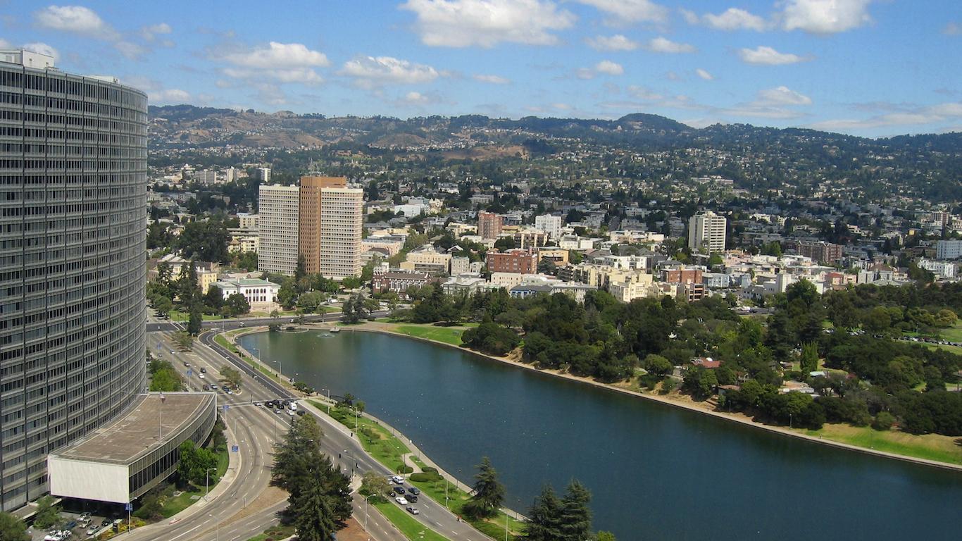 Lake Merritt, Oakland, Alameda County, California