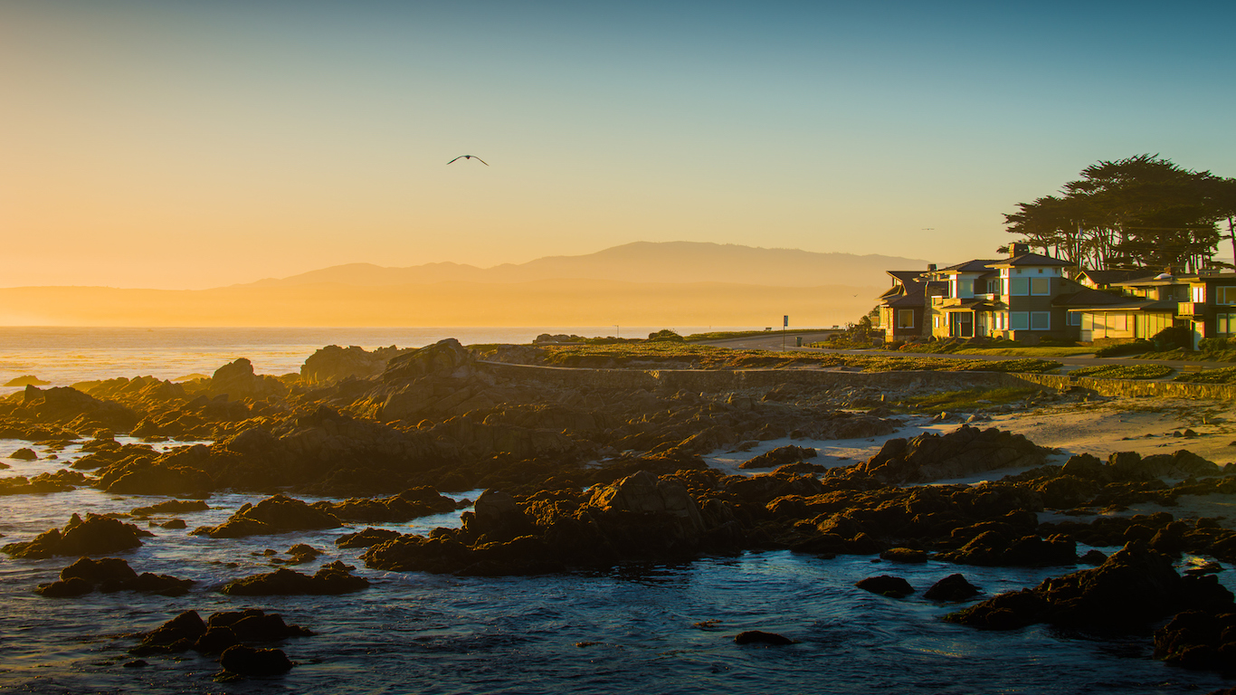 Morning at Monterey County, California