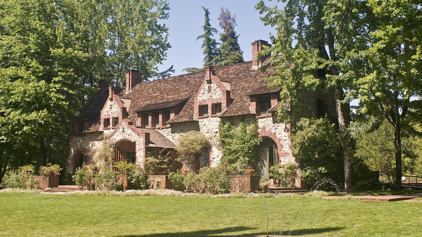 English Tudor Cottage, Nevada County, California