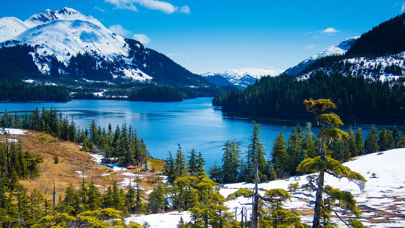 Overlooking Prince William Sound, Alaska