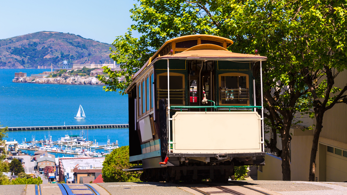 Hyde Street Cable Car San Francisco County, California