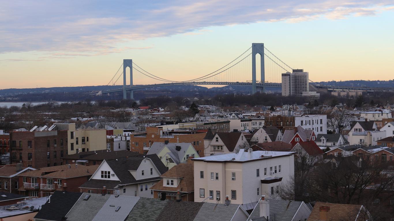 Verrazano–Narrows Bridge, Staten Island, Richmond County, New York