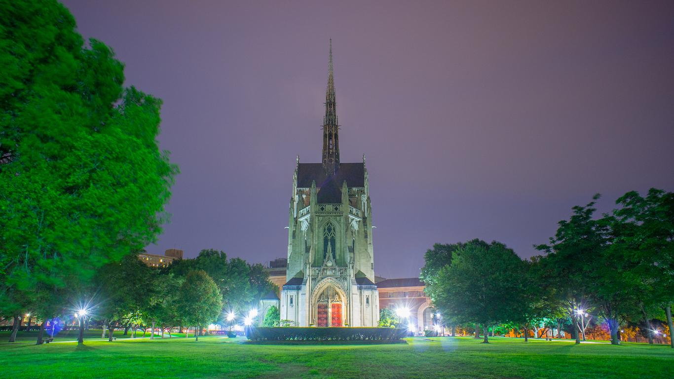 University of Pittsburg, Pennsylvania