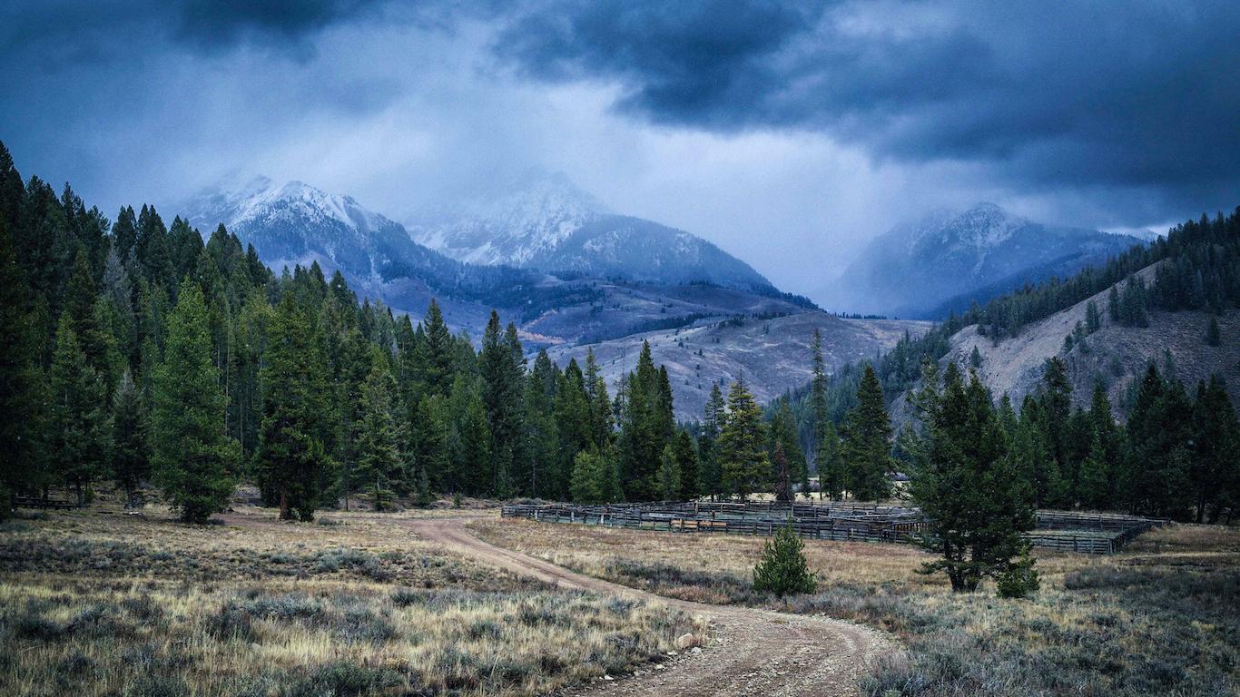 Fall Weather - Boulder Mountains, Idaho
