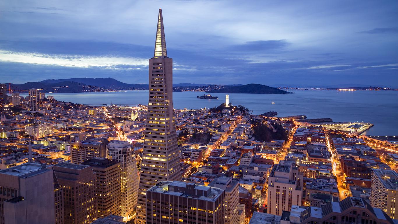 Financial District San Francisco, California