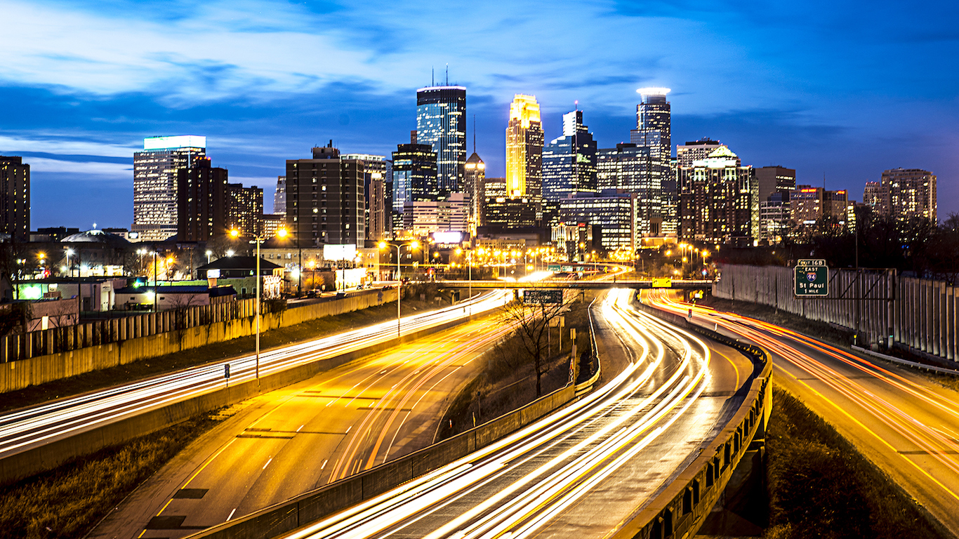 Speed of Minneapolis, Minnesota