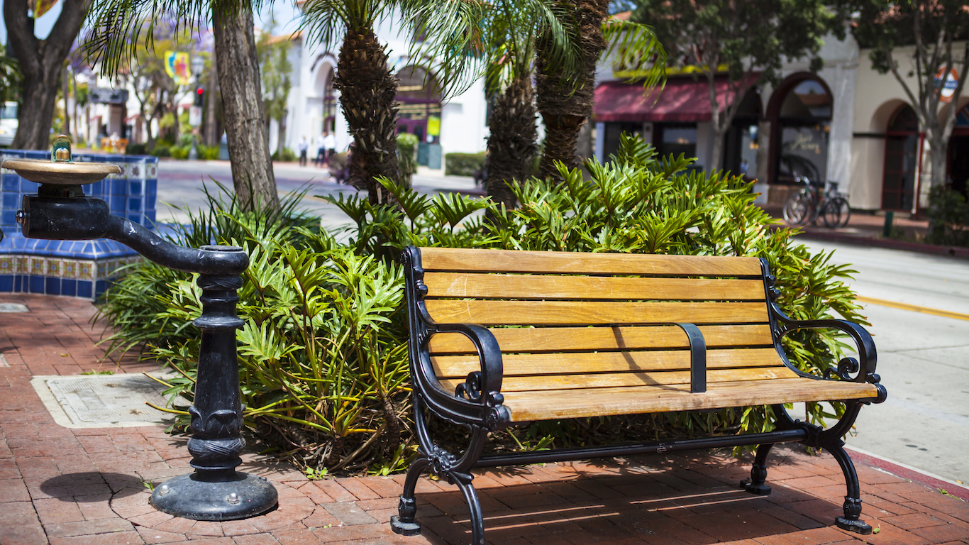Bench Santa Barbara - California
