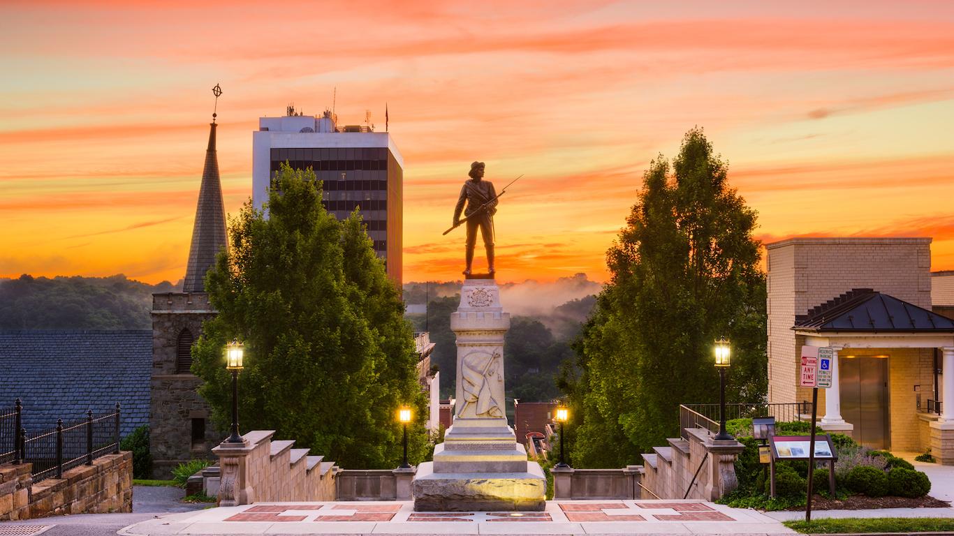 Lynchburg, Virginia at Monument Terrace