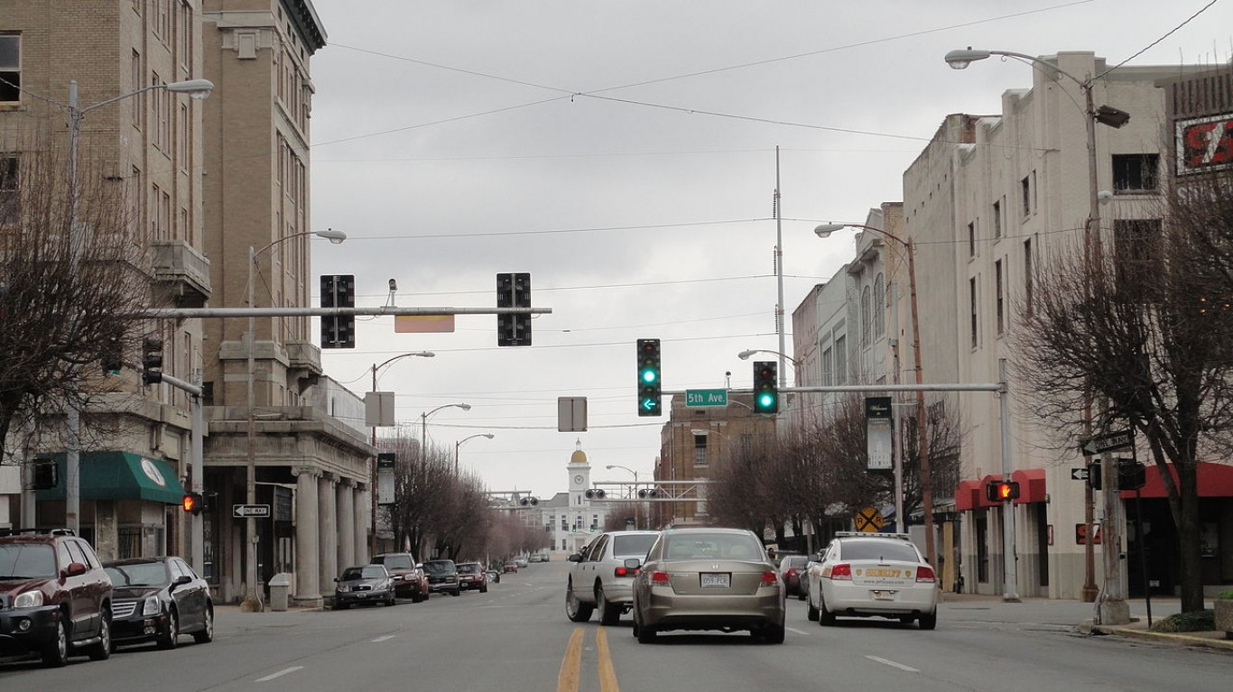 Main Street from the South 2 - Pine Bluff, Arkansas by Paul Sableman