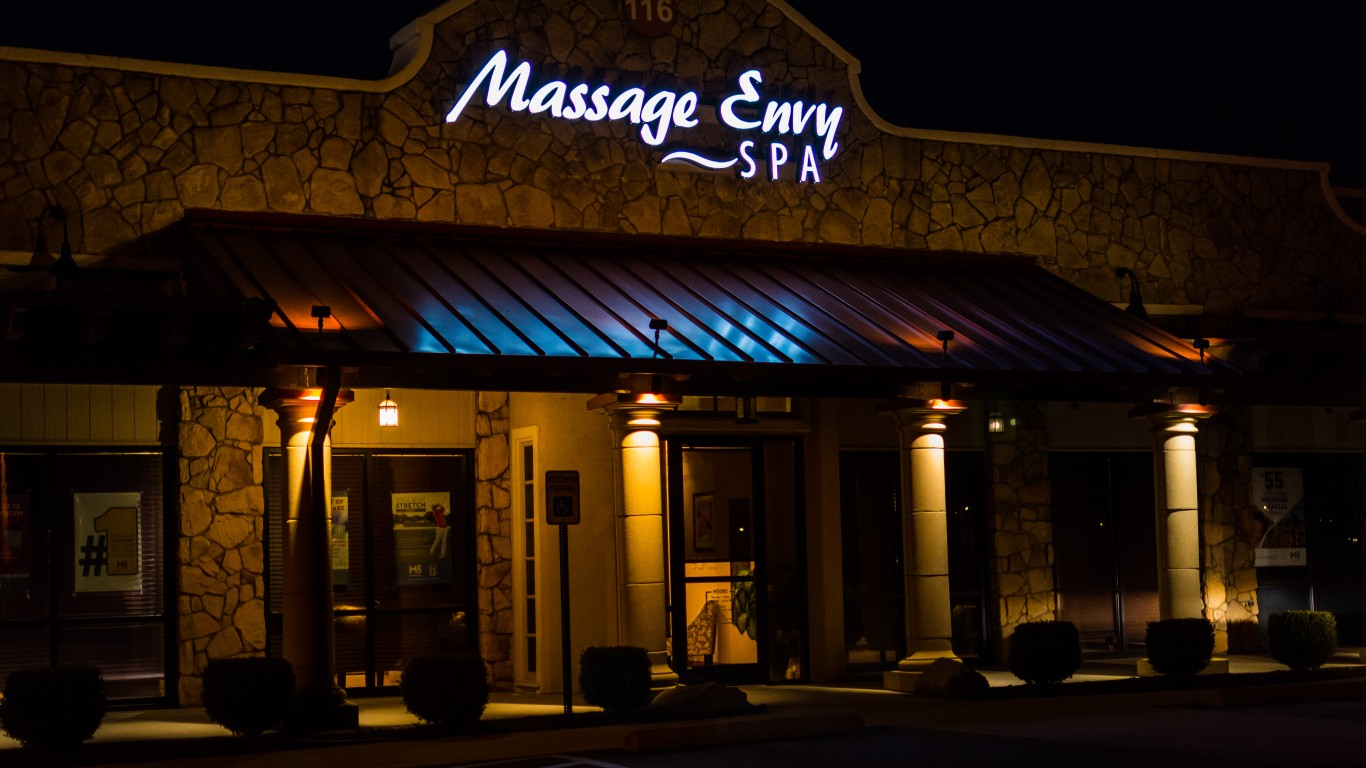 Massage Envy by Mr. Blue MauMau