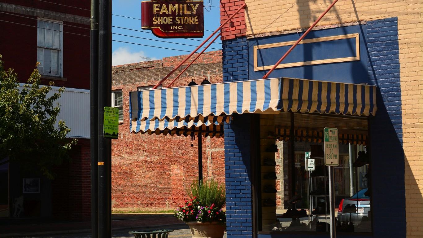Family Shoe Store by Michael A. Richardson