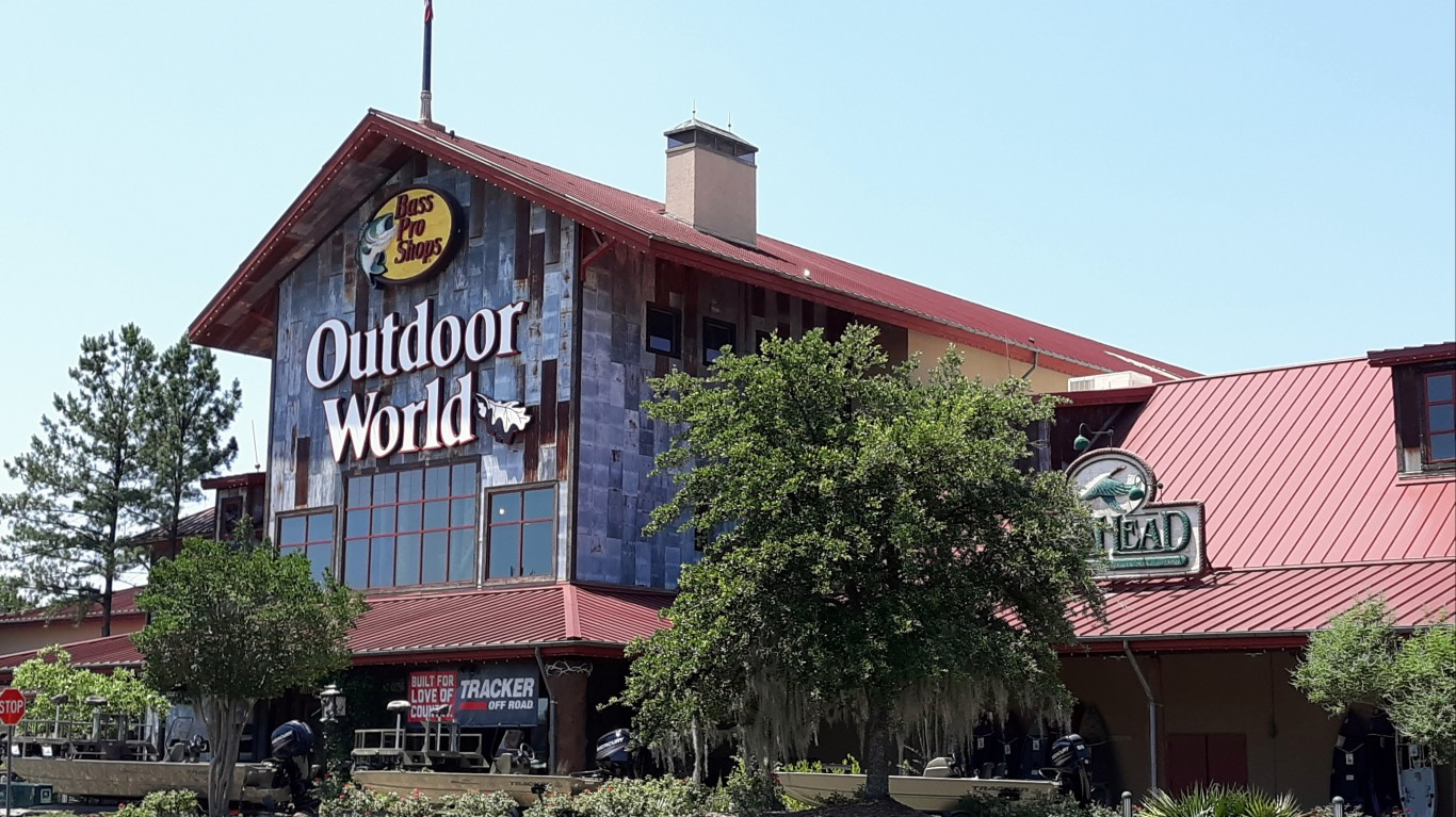 Bass Pro Shops Outdoor World by James Case