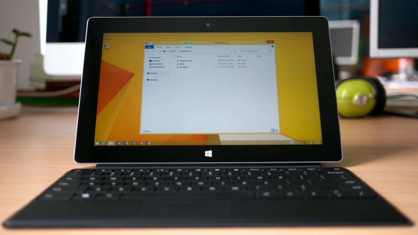 Microsoft Surface 2 by Kārlis Dambrāns
