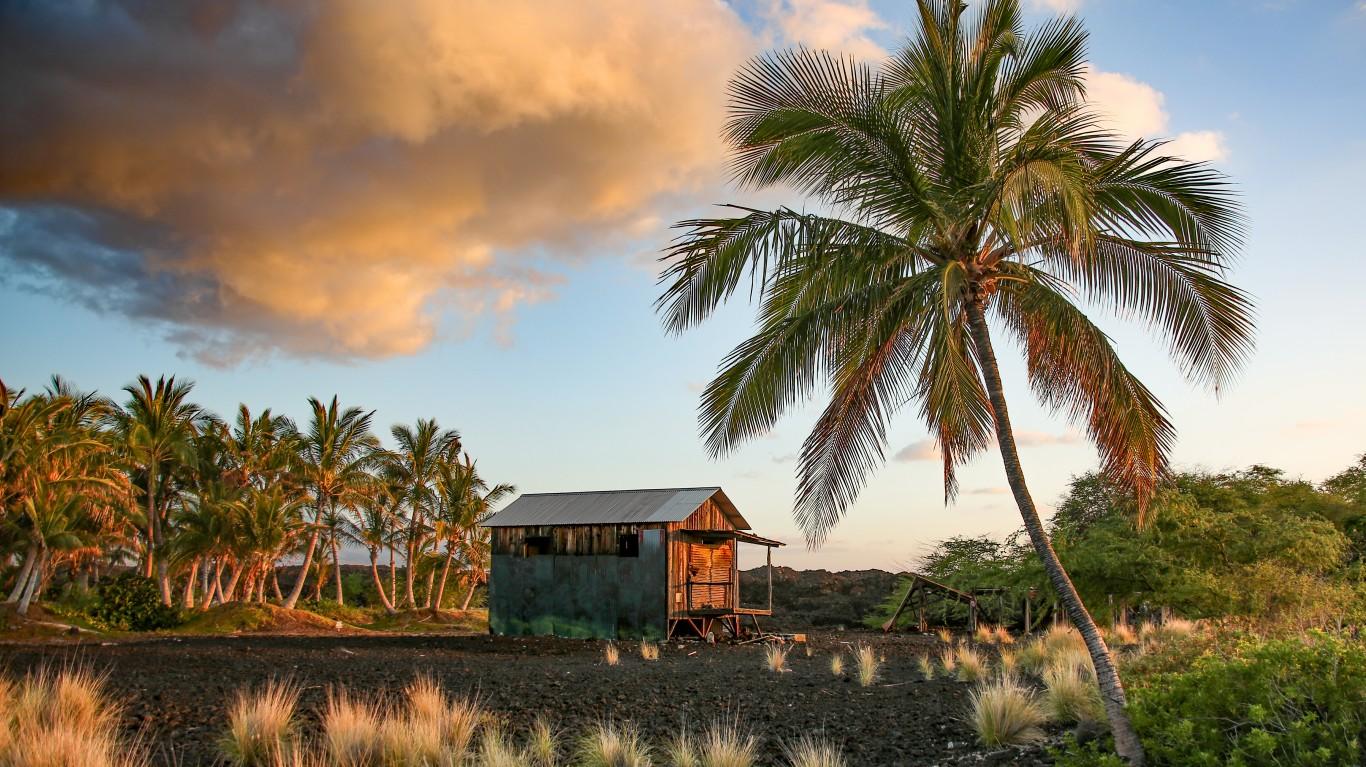 Hawiian Shack by Rennett Stowe