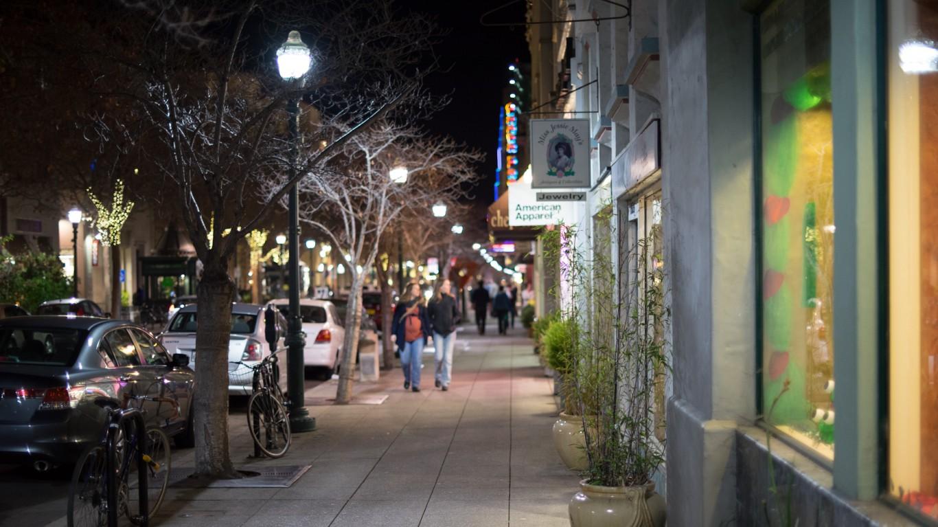 Pacific Avenue, Santa Cruz, CA by Stanislav Sedov