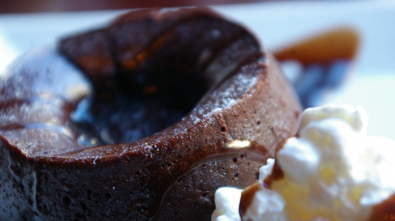 Chocolate Molten Cake with Whi... by Dave Gammon