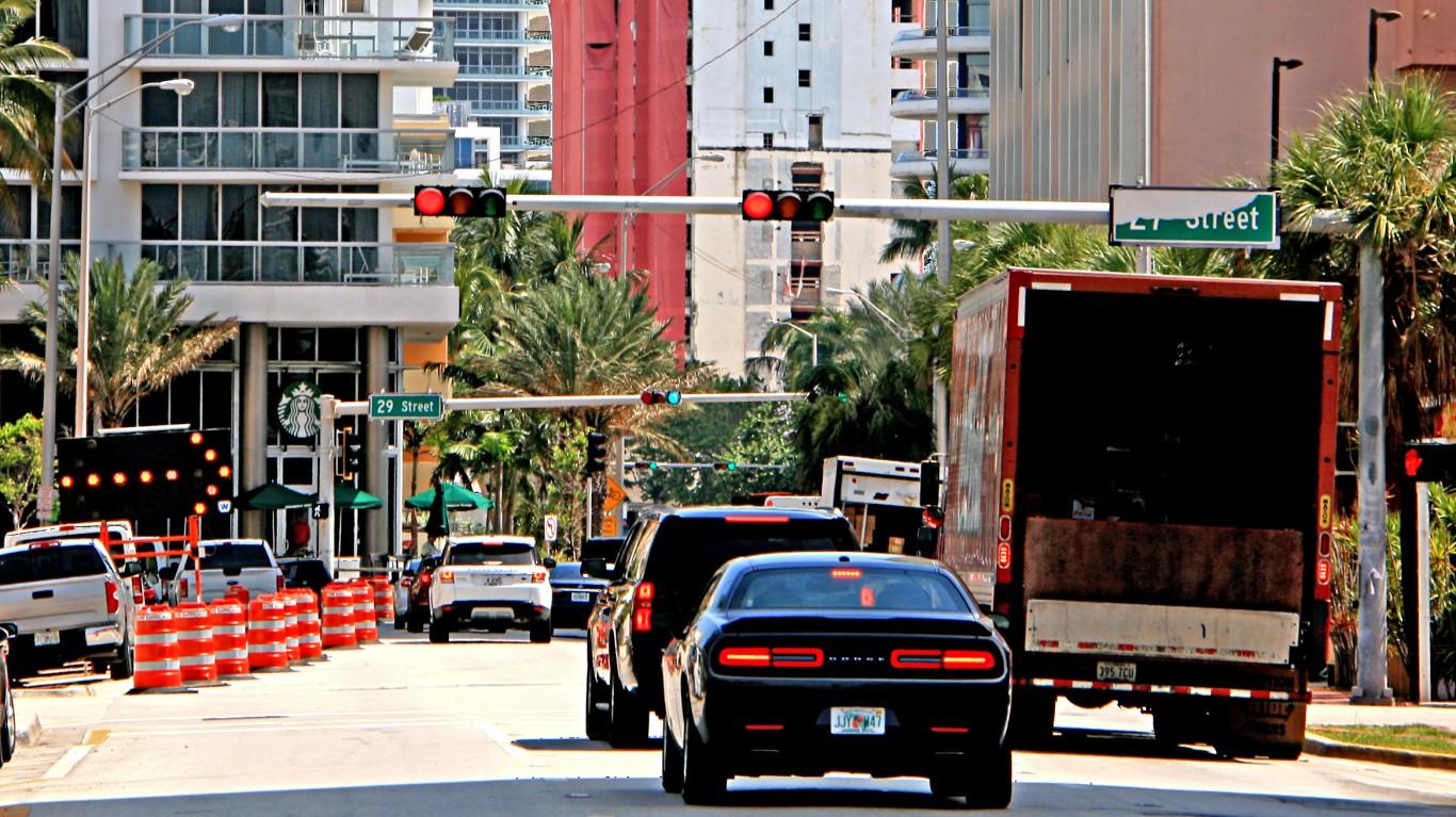 Miami Beach, Florida, USA by Pom'