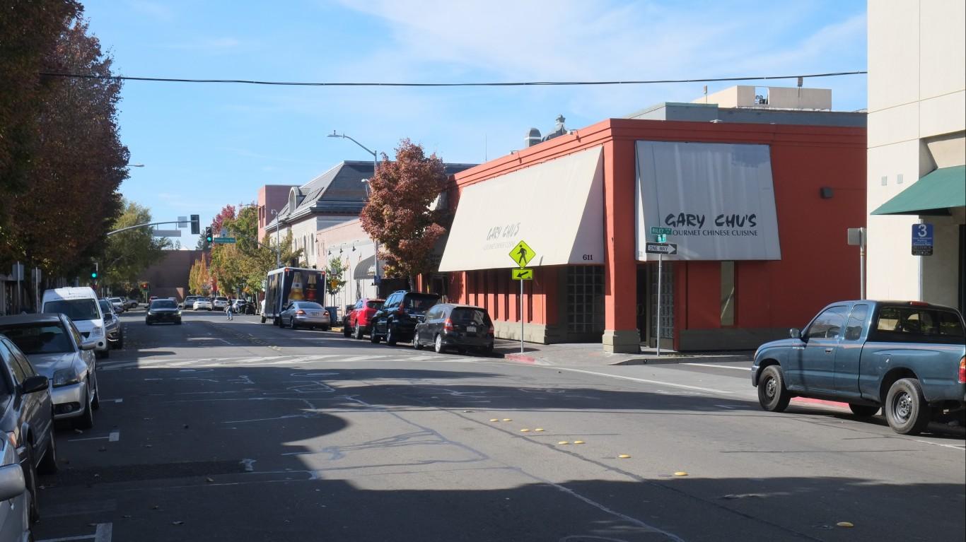 Downtown Santa Rosa by Paul Sableman
