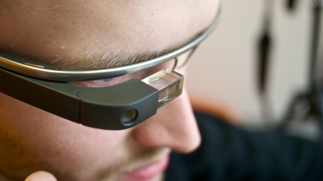 Google Glass by Kārlis Dambrāns