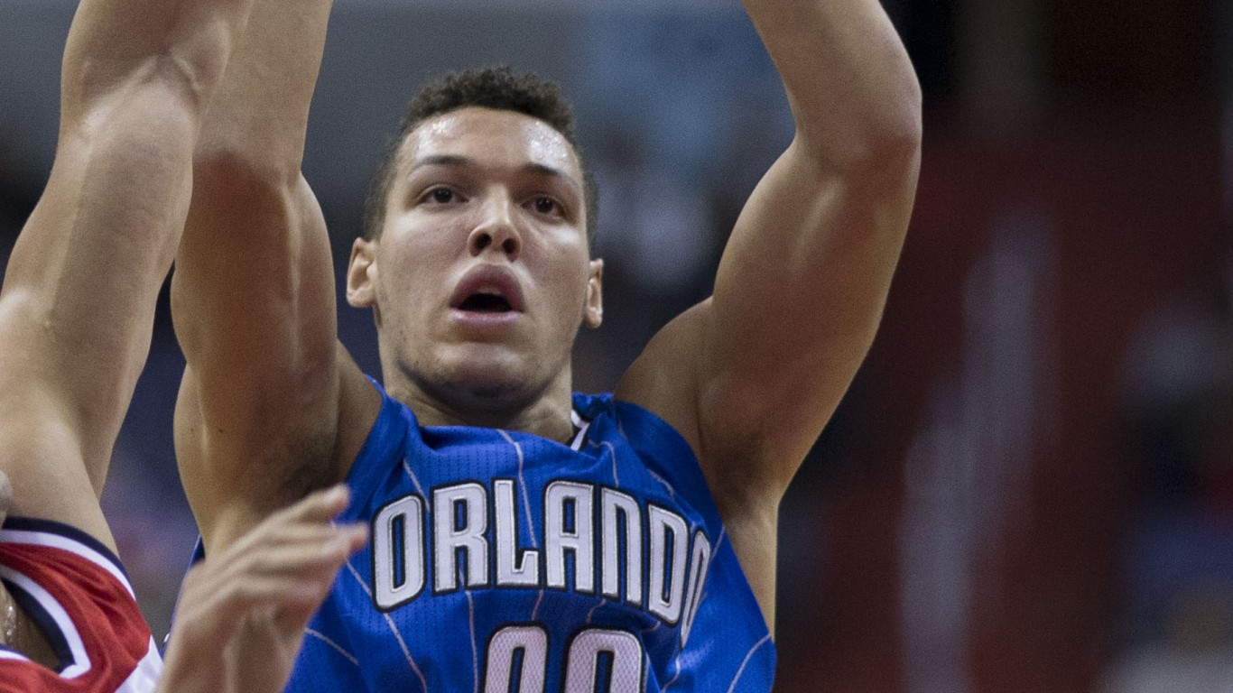 Aaron Gordon (15614234597) (cr... by Keith Allison from Hanover, MD, USA