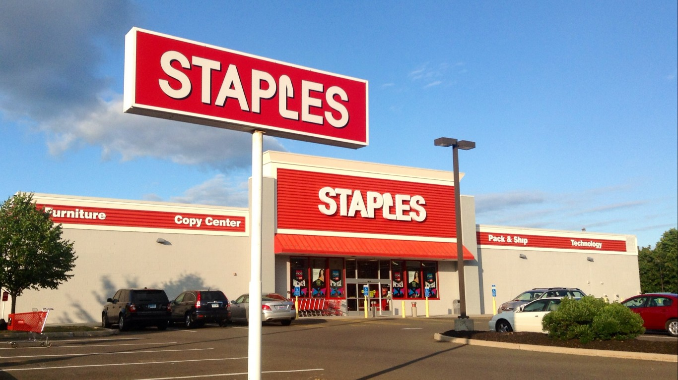 Staples by Mike Mozart