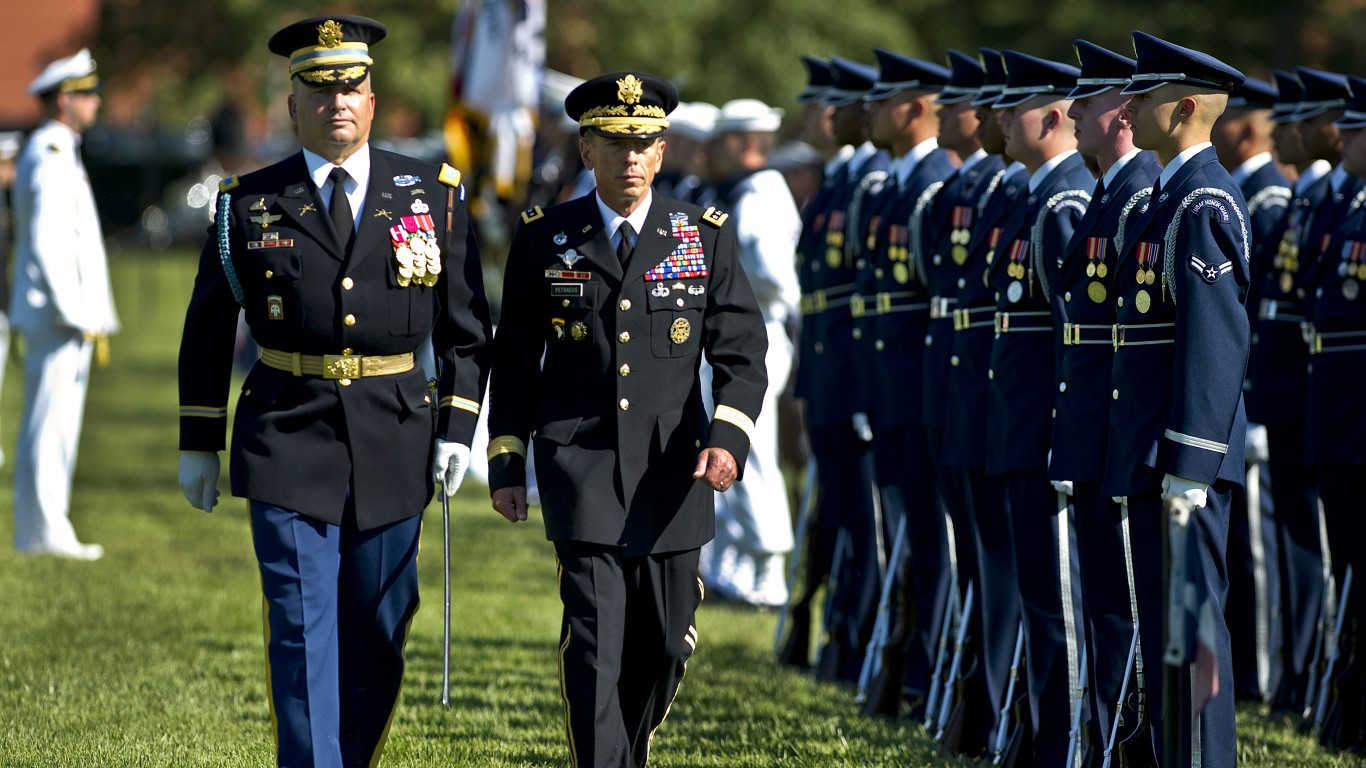 Gen. David H. Petraeus retirem... by The U.S. Army