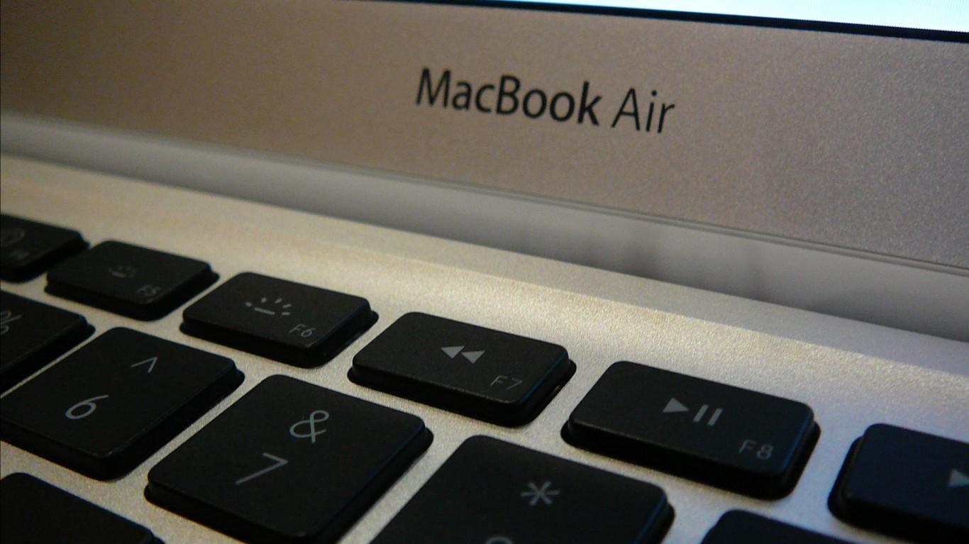 MacBook Air - closeup by Dan Taylor-Watt