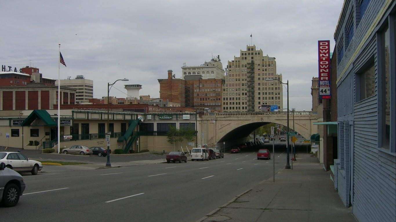 downtown Spokane by Jason Taellious