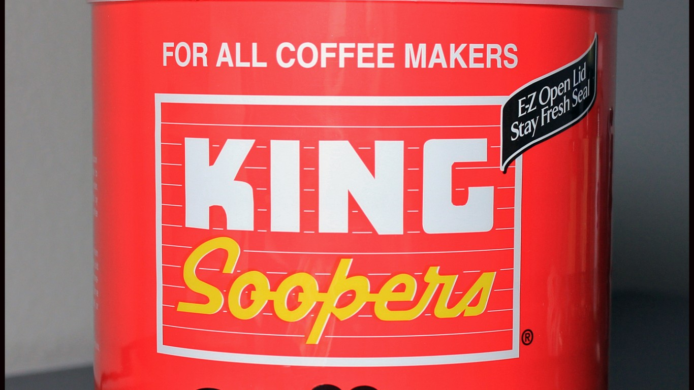 King Soopers Coffee by Jeffrey Beall