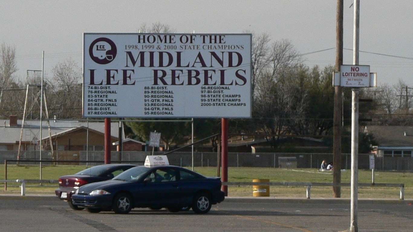 Home of the Midland Lee Rebels by Rick Kimpel
