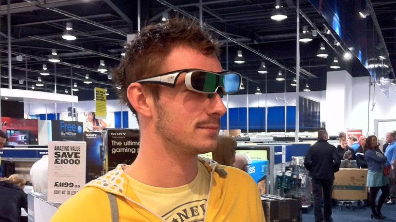 3D TV in action by Rob Lawton