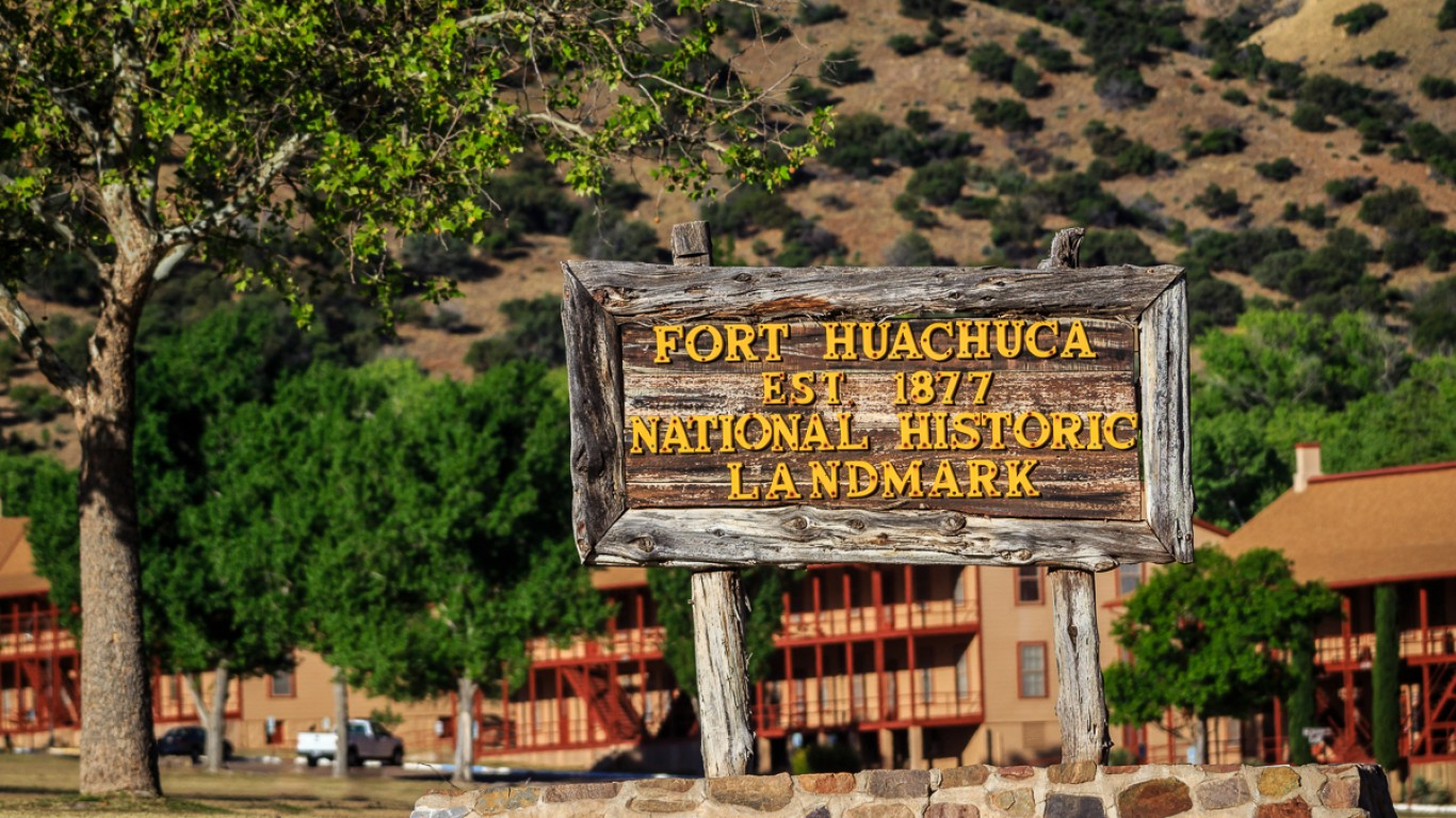 Old Fort Huachuca by Todd Morris