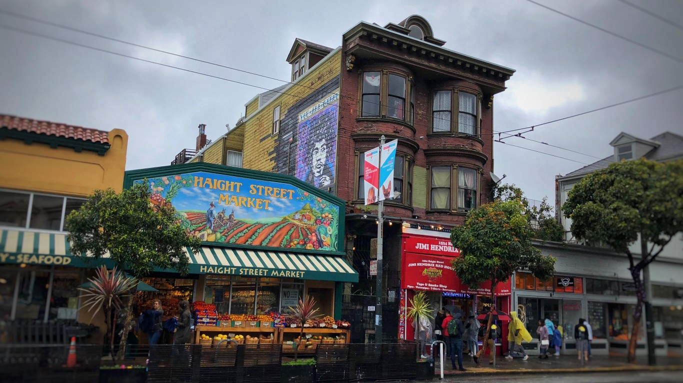 Jimi Hendrix House - Haight As... by Shelby L. Bell