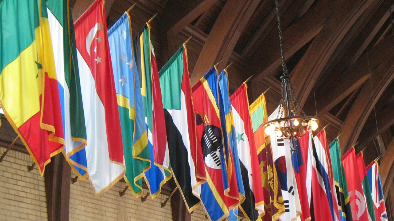 Cafeteria Flags by NatalieMaynor