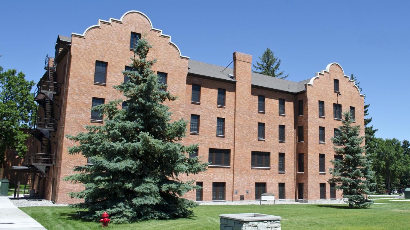 Hamilton Hall - Montana State ... by Tim Evanson