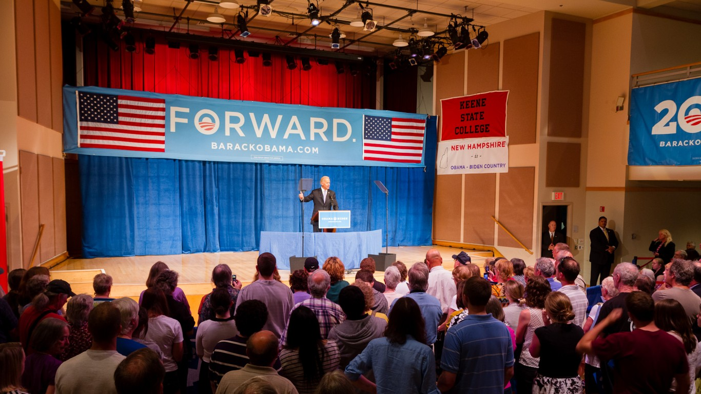 Keene State College: Joe Biden by Chad Cassin
